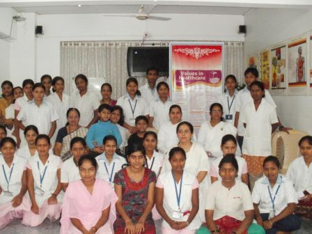 Staff, Neel Endoscopic Clinic & Students, Vispute Nursing College, Panval, March 2012 .jpg